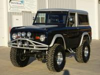 1977 Ford Bronco  4x4. This Bronco has been fully