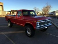1977 FORD F-250 4X4 460ci big block (D1VE)
