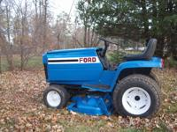 For Sale: Ford LGT 165, 16 hp garden tractor. Comes