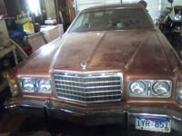 1977 Ford LTD Been sitting in garage for 2 years. Great