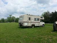I have a 1977 Ford Mallard 22 ft class C Motorhome for