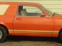 I have a 1977 Ford Pinto Factory Cruising wagon with