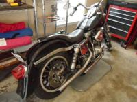 This beautiful and well maintained 1977 Shovelhead has