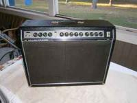 For sale is a very rare 1977 Gallien Krueger 100 Watt