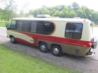 1977 GMC/Former Palm Beach Motor Home Mileage 42,341