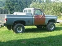 I am selling my 1977 GMC high sierra lifted 4x4. It has