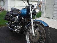 Harley Davidson title & matching VIN on frame Engine is