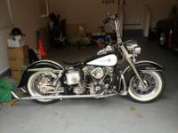 Totally restored 77 HD Shovelhead. 93 SS Stoker kit, SS