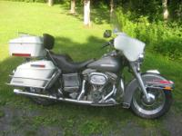 1977 Harley FLH Electra-Glide. The bike is original