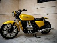 1977 Honda Goldwing GL1000 Show BikeFor a faster