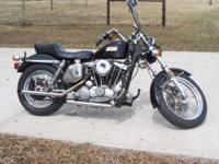 This is a 1977 Sportster that I handled trade. I do not