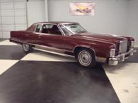 Stk#013 1977 Lincoln Continental Town Coupe Exterior: