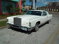 1977 Lincoln Town Coupe for Sale, 400 V8 engine,