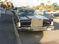 1977 Lincoln Executive Limo with partition glass and
