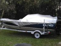 Lund 16' aluminum boat for sale or trade for a zero
