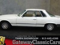 Stock #585-TPA 1977 Mercedes Benz Coupe  $13,995