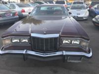 1977 Mercury Cougar 2DR hardtop. Very rare. This ad was