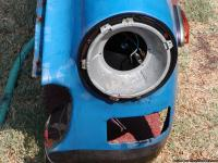 1977 MG MIDGET drivers side fender.