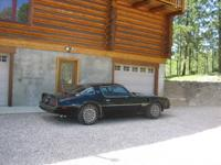 Documented PHS 1977 Y82 SE Trans Am / Black exterior /