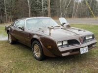 1977 trans am 400 auto,w-72, w/handling package,most