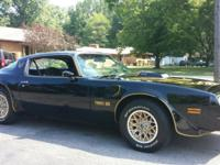 You are looking at my 1977 Pontiac Trans Am. The car is