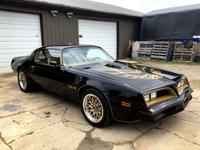 1977 TRANS AM SE Y81 W72 4 SPEED ALL NUMBERS MATCHING.