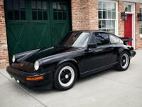 1977 Porsche 911  This 911s is painted black just like