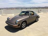 1977 Porsche 911 S Targa 2-Door. VERY RARE EARLY