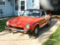 hello there i have here a 1977 spider fiat with 87,000