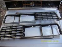 Right and left hand grills for circa 1977 Sunbird. May