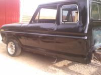 1977 FORD F250 CAB MOUNTED ON 1990 F150 FRAME, INCLUDED