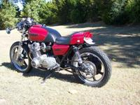 1977 SUZUKI GS750 CAFE RACER, SOME OF THE NEW PARTS