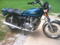 Here is a very nice GS750B first year model and runs