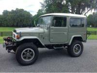 1977 Toyota Land Cruiser This is an extremely greatly