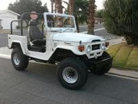 1977 TOYOTA FJ40 LAND CRUISER 4X4 WITH A POWERFUL 350