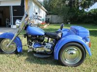 Rare Shovelhead Trike in exceptional condition. 1977