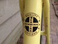 Great opportunity to own a vintage 1977 Schwinn