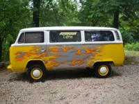 This is my 1977 Volkswagen Van It has a great Body