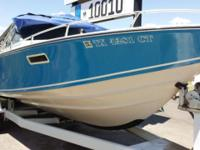 Outstanding Value, $4,500. 1977 Wellcraft 25' Nova, in