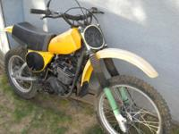 For Sale: 1977 Yamaha YZ400D motorcycle This vintage