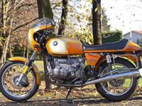 Up For sale 1977 BMW R90S. The machine currently