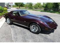 Very unique and attractive, this 1977 Corvette coupe