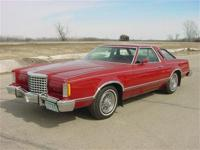 1977 Ford Thunderbird. Excellent car with rebuilt 351M