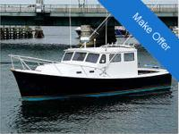 1977 JC 31 Casco downeast boat in excellent condition,