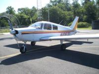 1977 Piper Cherokee 140, 3960 hours since new! 1150