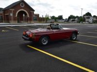 Selling a '78 MG MGB Mark IV with a low 42,616 miles.