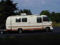 1978 Airstream Argosy 24 Class A This motor home is