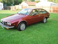 1978 Alfa Romeo (WA) -$13,200 Alfetta Sprint Veloce