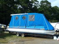 1978 Aloha 24 ft Party Barge with 50 hp Johnson SPL