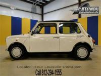 1978 Austin Mini Designer Edition. This is a rare